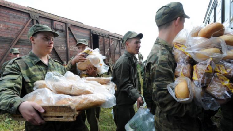 Минобороны получило право мобилизовать в военное время предприятия пищевой и швейной промышленности