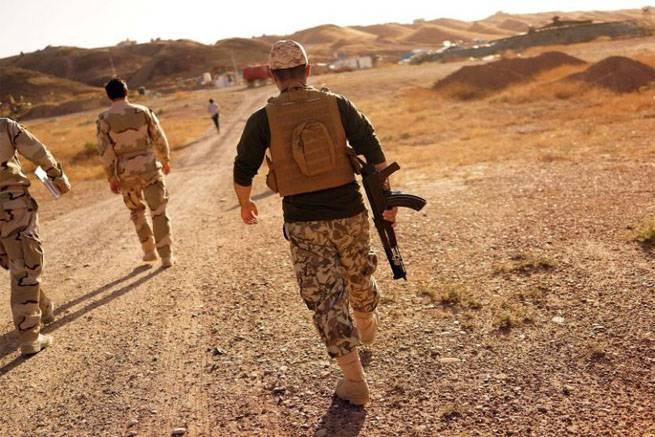 Курды объявили о завершении своего участия в операции под Мосулом (Ирак)
