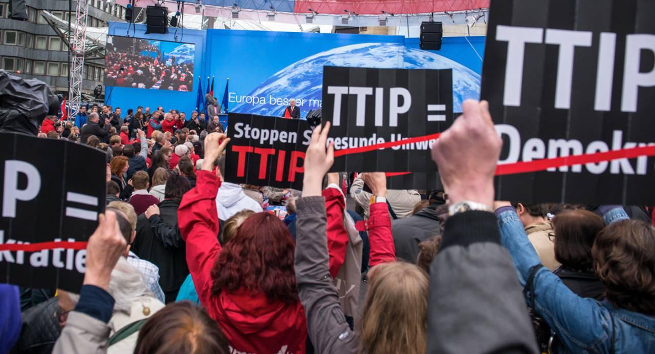 А вы, друзья, как не садитесь, все в «TTIP» годитесь