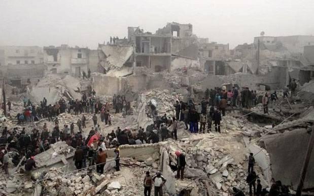 От ударов бельгийской авиации в провинции Алеппо погибли мирные жители