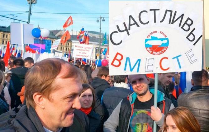 Сирия признала Крым неотъемлемой частью Российской Федерации