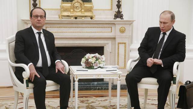 Главы Франции и Германии пытаются убедить Владимира Путина продлить гуманитарную паузу в Алеппо