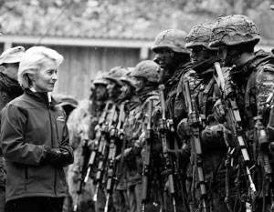 Германия хочет вновь отстаивать свои интересы военным путем