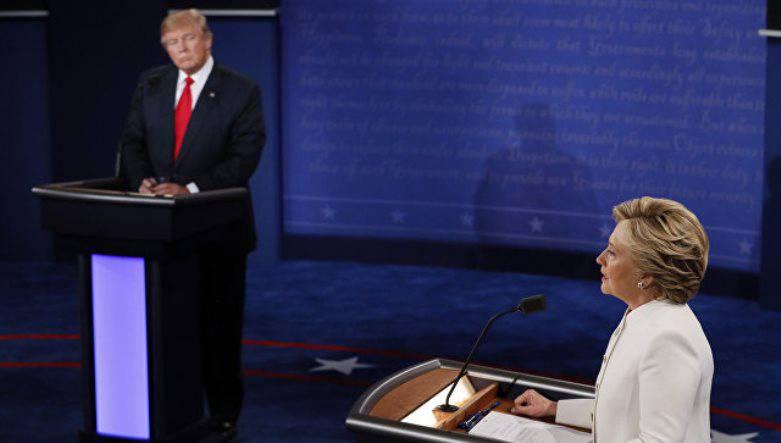 На заключительных дебатах Трамп объяснил, почему Клинтон не любит Путина