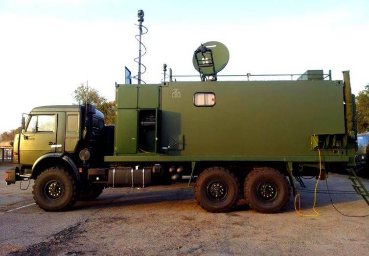 В войска стали поступать мобильные командные пункты нового поколения