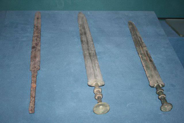 Китайский металл в древней Японии (часть 7)