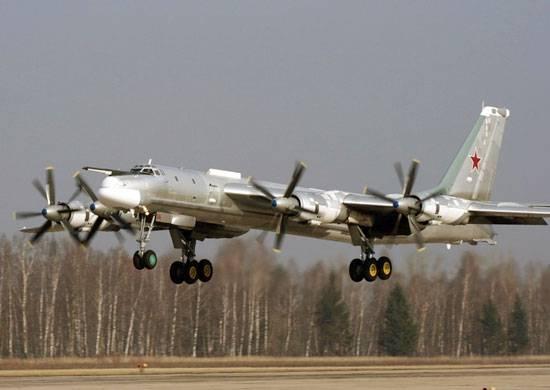 МО РФ подтвердило информацию о возгорании двигателя Ту-95МС под Иркутском