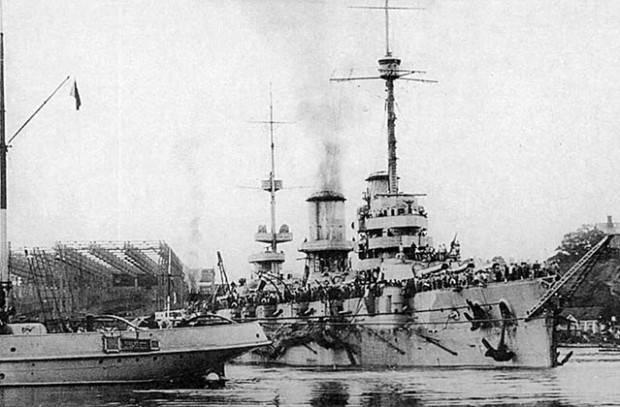 Как погиб флагман Черноморского флота линкор «Императрица Мария»