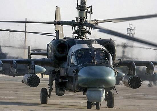 Партию вертолётов Ка-52 в ходе единого дня приёмки военной техники передадут в войска