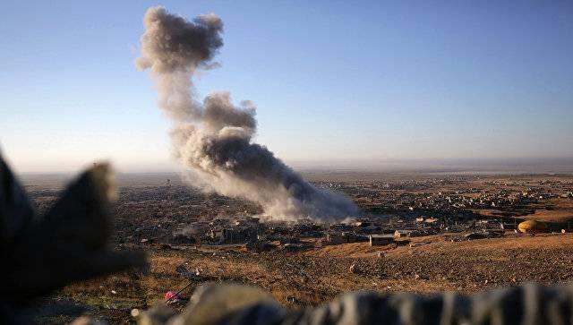 МО РФ: самолёты коалиции в Ираке разбомбили траурную процессию