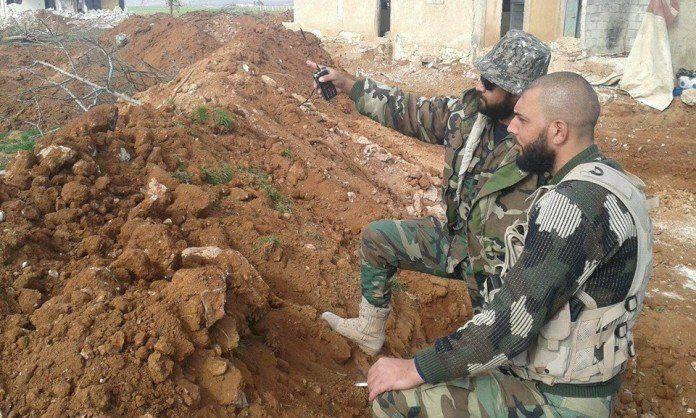 Успешные действия сирийской армии на юге Алеппо и в районе Дейр-эз-Зора