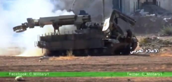 Полевая модернизация сирийской ИМР-2