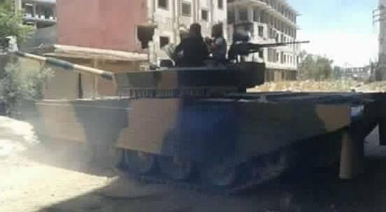 На вооружении 4-й дивизии САР появился необычный вариант танка Т-72