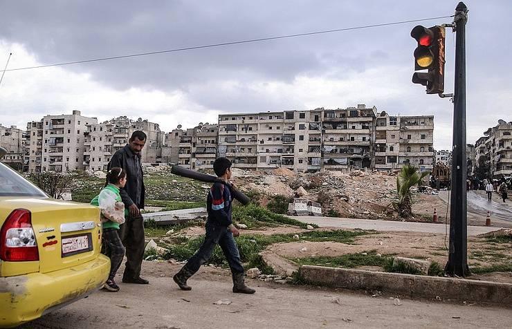 Минобороны: российская и сирийская авиация уже неделю не появлялась в небе над Алеппо