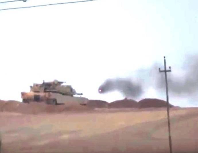 Иракские правительственные силы потеряли очередной М1А1М «Абрамс» под Мосулом