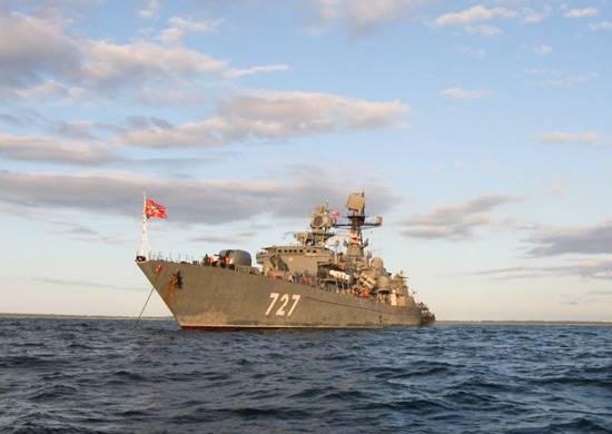 """Сторожевой корабль """"Ярослав Мудрый"""" прибыл на Кубу"""