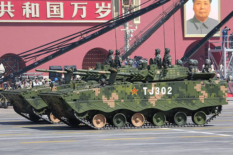Radical update of the Chinese army