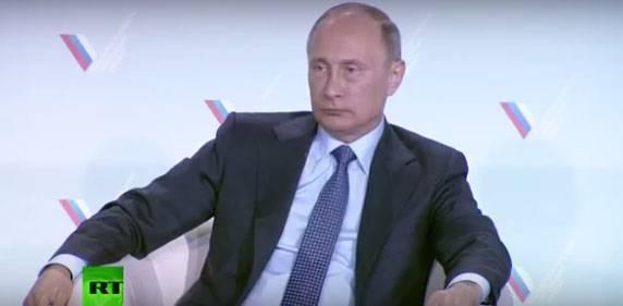 Владимир Путин назвал организаторов энергетической блокады Крыма удивительными идиотами