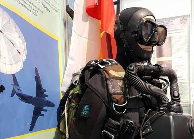 Российский спецназ получит двухсредный дыхательный аппарат