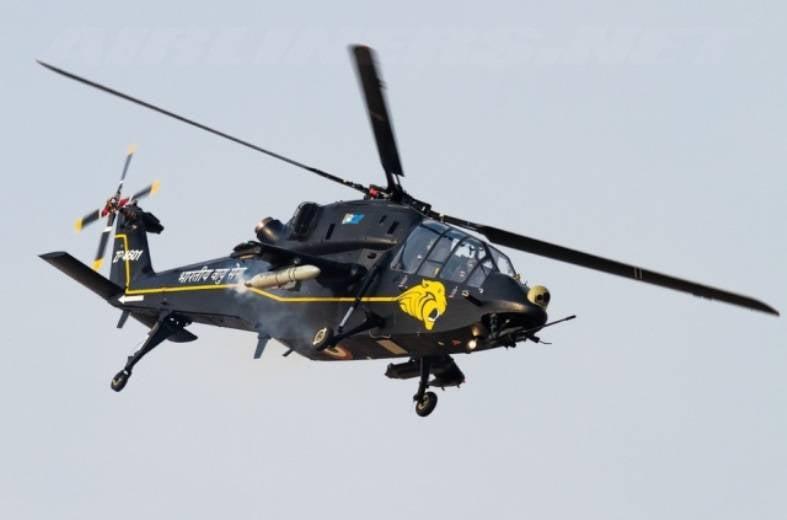 Индийская HAL приступила к серийному производству новых ударных вертолётов
