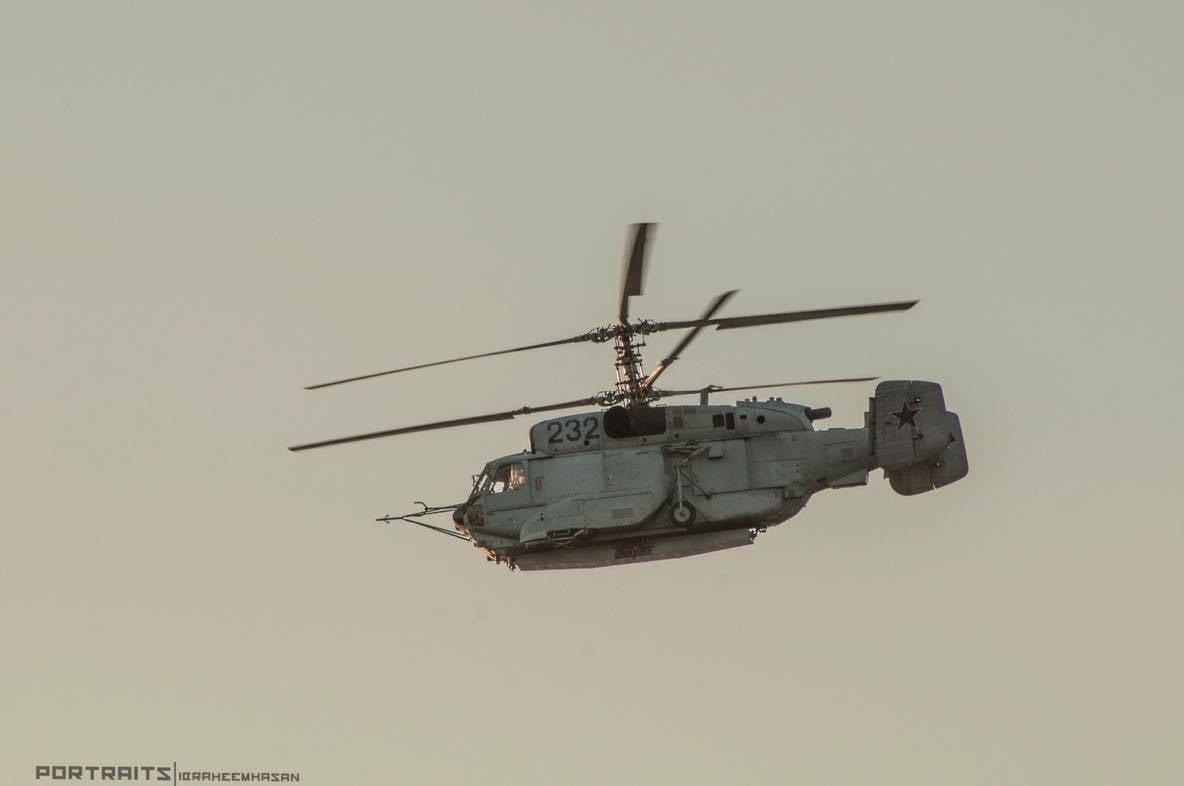 Внебе Сирии замечен русский вертолет-разведчик Ка-35