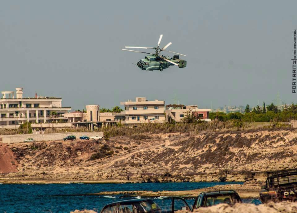 Внебе Сирии замечен российский вертолет-разведчик Ка-35