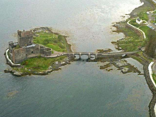 Самый романтический замок Шотландии