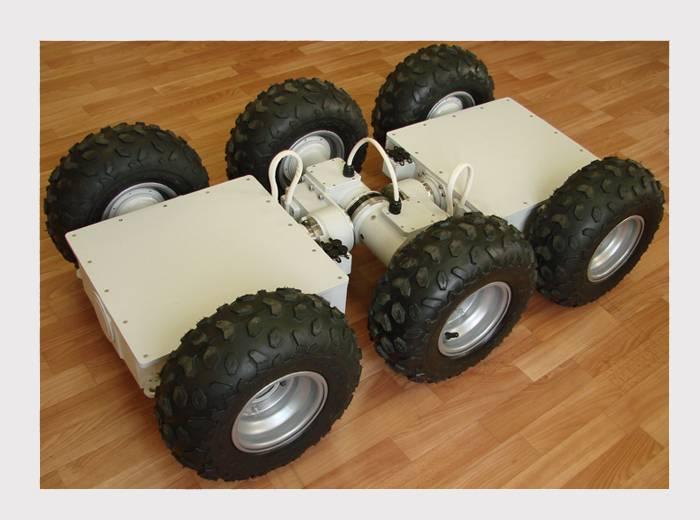 Военные спасатели получат роботов-гусениц