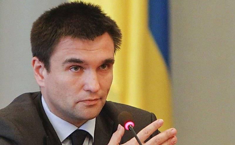 Климкин: дата выборов в Донбассе может быть назначена только при выполнении всех условий по безопасности
