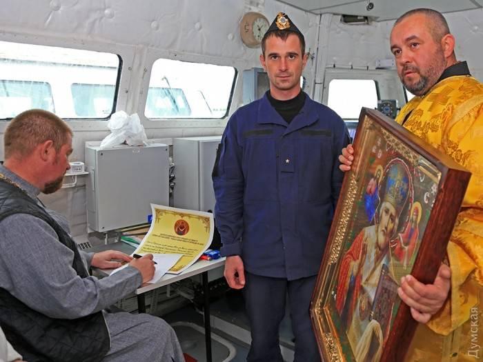В Одессе освятили новые катера «Гюрза-М»