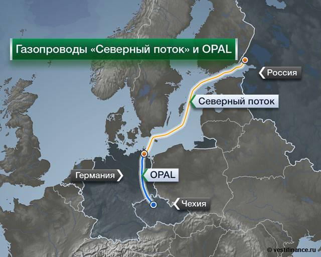 """Reuters: """"Газпром"""" получит доступ к внутреннему газопроводу Евросоюза"""