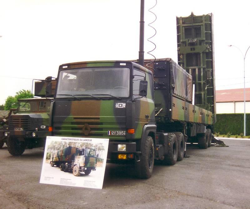 Оперативно-тактический ракетный комплекс Hadès (Франция)