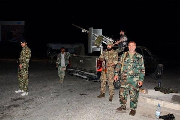 Сирийская армия уничтожила крупную группировку боевиков на юго-западе Алеппо
