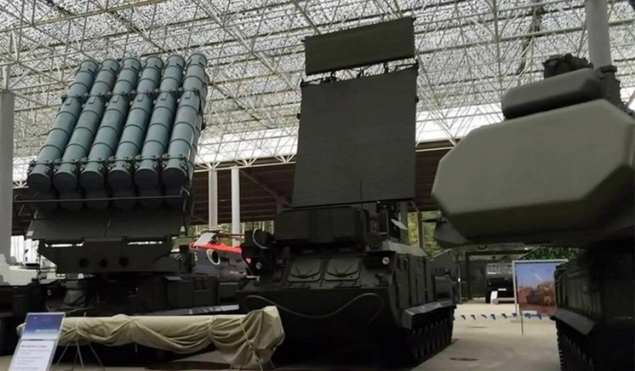 Sistema antiaéreo russo Buk-M3