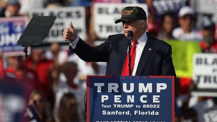 Трамп призвал своих сторонников голосовать на выборах дважды