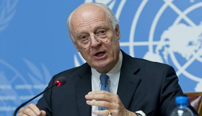 """Де Мистура: """"Повстанцы в Алеппо совершают военные преступления"""""""