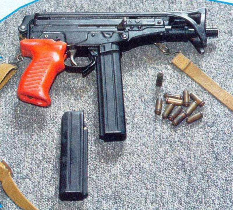 Газовый пистолет-пулемет ГМС-700