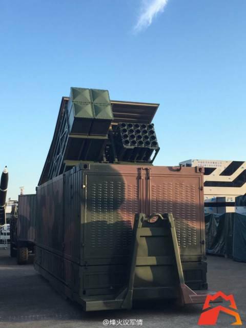 Китайские производители представят собственный ракетный контейнерный комплекс