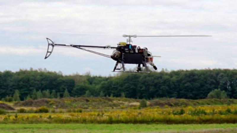 В РФ завершены испытания беспилотного электрического вертолёта