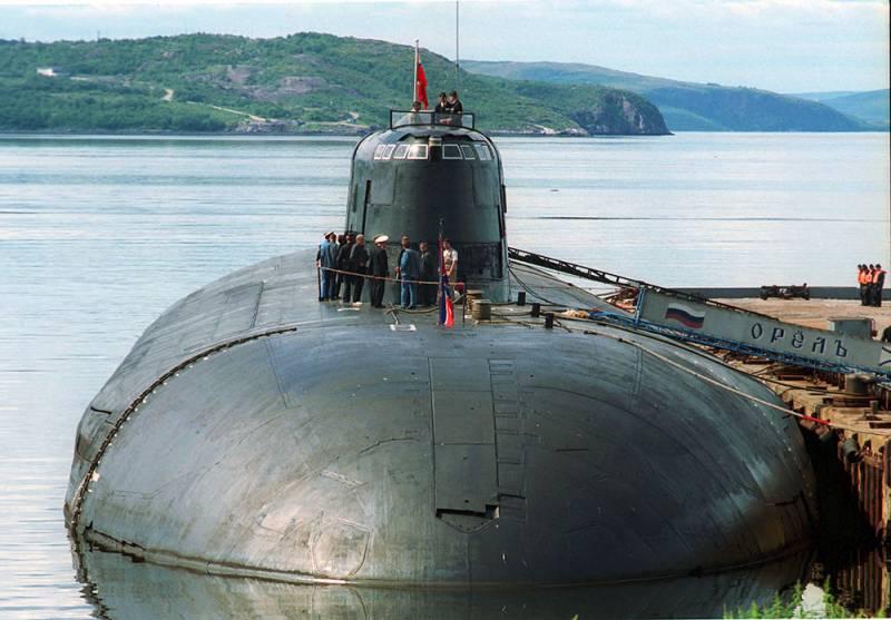 АПЛ «Орёл» спущена на воду в Северодвинске