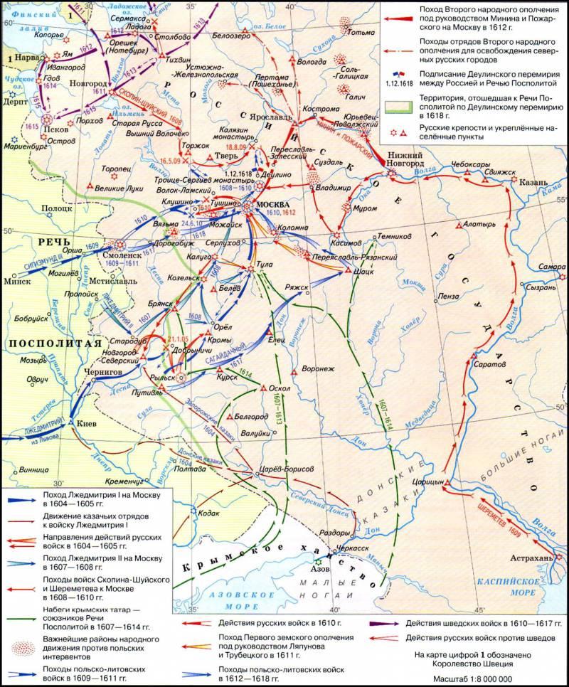 Последние сражения Смутного времени. Поражение России в войнах со Швецией и Польшей