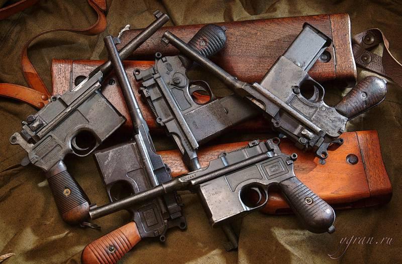 Краткая история пистолетов-карабинов. Часть 2. Mauser C96