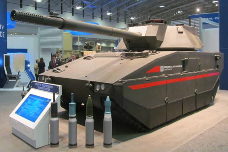 General Dynamics представила новый лёгкий танк для армии США