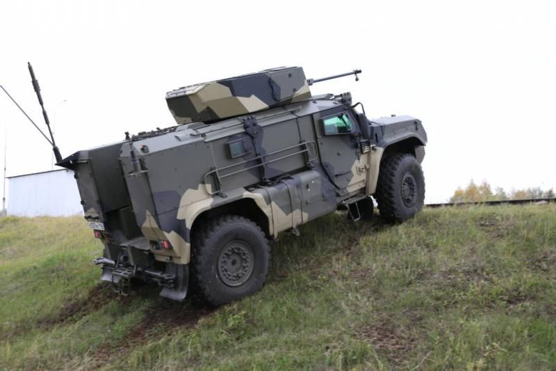 Для бронеавтомобиля «Тайфун-ВДВ» разработан боевой модуль