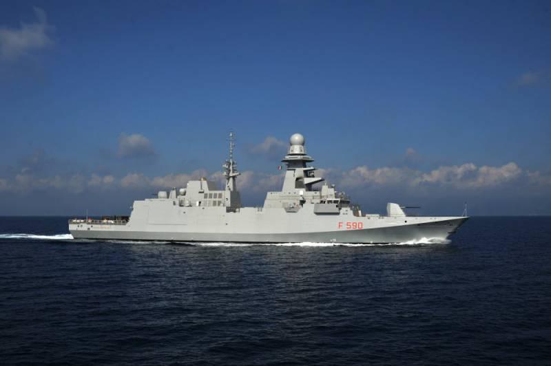 ВМС Италии получили пятый фрегат FREMM