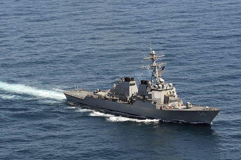 Два корабля ВМС США приняли участие во вьетнамо-американском учении
