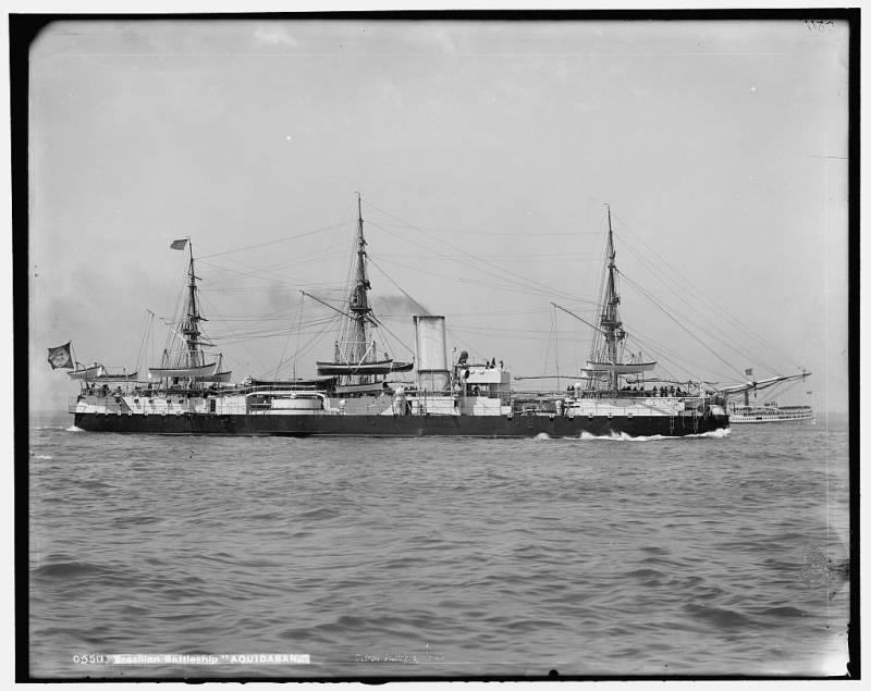 Вспомогательный крейсер с динамитным орудием Nitcheroy (Бразилия/США)