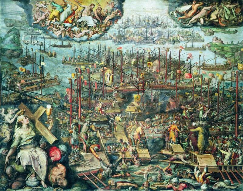 Средиземноморское сражение номер один. Как флот Священной лиги разгромил в морском бою силы Османской империи