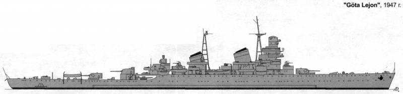 """Крейсера проекта 68-бис: """"Свердлов"""" против британского тигра. Часть 2"""