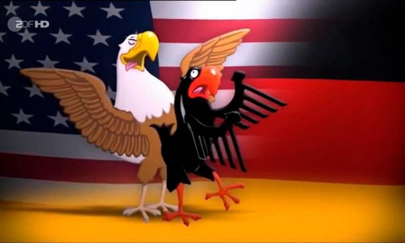 Немцы нашли в своём кармане руку американцев и теперь подозревают старшего партнёра в ведении экономической войны